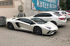 AK Partili aday partiye Lamborghini'yle geldi sosyal medya yıkıldı