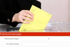 YSK Sandık sorgulama e devlet -Nerede oy kullanacağım