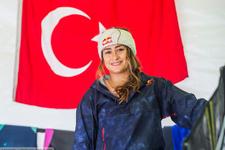 Lena Erdil Rüzgar Sörfü Dünya Kupası'nda ikinci oldu
