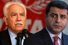 HDP adayı Demirtaş, Doğu Perinçek'i delirtti!