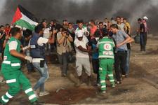 Anadolu Ajansı muhabiri Gazze'de yaralandı