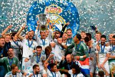 Real Madrid Liverpool maçı fotoğrafları