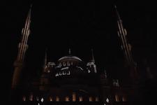 Sultanahmet Camii'nde muhteşem video mapping gösterisi!