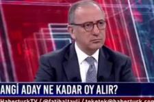 Ünlü anketçi 'bol kepçeden attık' dedi Fatih Altaylı koptu