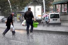 Ankara'da dolu ve yağmur alarmı saatlik hava durumuna bakın