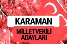 MHP Karaman milletvekili adayları 2018 YSK kesin listesi