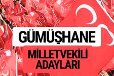MHP Gümüşhane milletvekili adayları 2018 YSK kesin listesi