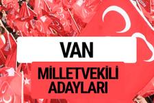 MHP Van milletvekili adayları 2018 YSK kesin listesi