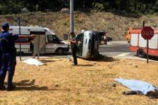 Antalya'da korkunç kaza! Çok sayıda ölü ve yaralı var
