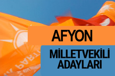 AKP Afyon milletvekili adayları 2018 YSK AK Parti kesin listesi
