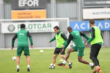 Bursasporlu futbolcular bugün de idmana çıkmadı