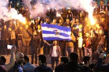 Erzurum'da play-off sevinci