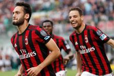 Hakan Çalhanoğlu attı Milan coştu