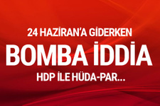 Bomba gelişme! HDP ve Hüda-Par ittifaka gidiyor...