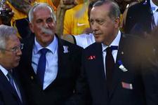 Cumhurbaşkanı Erdoğan'dan Fenerbahçe Doğuş'a destek