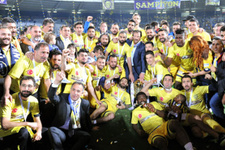 MKE Ankaragücü kupasını aldı