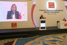 Başkan Fatma Şahin Türkiye Belediyeler Birliği Başkanı seçildi