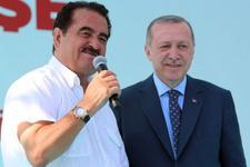 Sahneye davet edilen İbrahim Tatlıses, Erdoğan'ın nasıl doğalgaz bağlattığını anlattı!