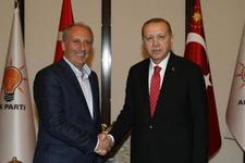 Muharrem İnce'den Erdoğan'a ziyaret