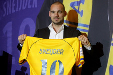 Sneijder Galatasaray'a mesaj gönderdi