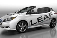Nissan çevreci otomobili LEAF'in Open Car versiyonunu tanıttı