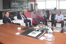 Yıldırım Demirören'den Eskişehirspor'a ziyaret