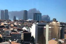 İstanbul'da korkutan yangın! Birçok ilçeden görülüyor