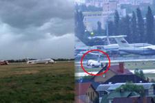 Antalya uçağı pisten çıktı!