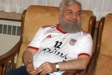 Hasan Ruhani'yi böyle görmememiştik galibiyet keyfi