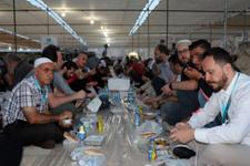 Mescid-i Aksa'da Ramazan boyunca iftar
