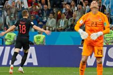 Hırvatistan şov yaptı Messi yıkıldı