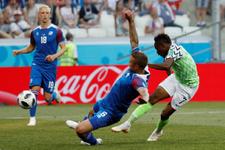 Nijerya'nın galibiyeti Arjantin'e yaradı