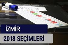 İzmir oy oranları partilerin ittifak oy sonuçları 2018 - İzmir
