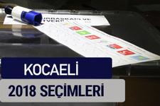 Kocaeli oy oranları partilerin ittifak oy sonuçları 2018 - Kocaeli