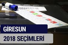 Giresun oy oranları partilerin ittifak oy sonuçları 2018 - Giresun