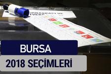 Bursa oy oranları partilerin ittifak oy sonuçları 2018 - Bursa