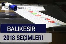 Balıkesir oy oranları partilerin ittifak oy sonuçları 2018 - Balıkesir