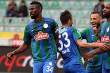 Çaykur Rizespor'un Nijeryalı futbolcusu transfer oldu