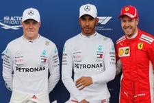 Fransa'da pole pozisyonu Hamilton'ın!