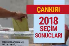 Çankırı 2018 seçim sonuçları - Genel Seçimler Çankırı oyları