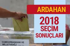 Ardahan seçim sonuçları 2018 Ardahan milletvekilleri