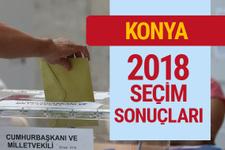 Konya seçim sonuçları 2018 genel seçimi Konya son durum