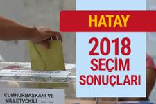 Hatay seçim sonucu 2018 Hatay sonuçları son haberler