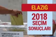 Elazığ 2018 seçim sonuçları Elazığ milletvekilleri