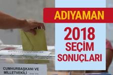 2018 Adıyaman seçim sonuçları Adıyaman milletvekilleri