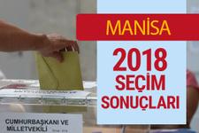 Manisa Seçim Sonuçları - Genel Seçim 2018 Manisa Sonucu