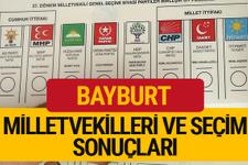 27. dönem 2018 Bayburt Milletvekilleri Bayburt Seçim Sonucu
