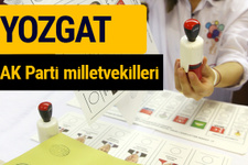 AK Parti Yozgat Milletvekilleri 2018 - 27. dönem AKP isim listesi
