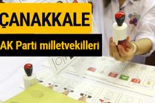 AK Parti Çanakkale Milletvekilleri 2018 - 27. dönem AKP isim listesi