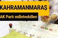 AK Parti Kahramanmaraş Milletvekilleri 2018 - 27. dönem AKP isim listesi